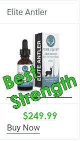 Most potent deer antler velvet with highest strenght formula
