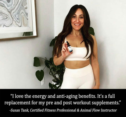 Deer antler velvet review by Susan Tank - a certified fitness professional.