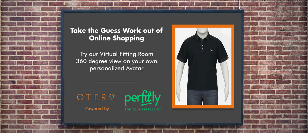 otero menswear and perfitly partnership