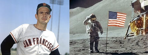 "Gaylord Perry was such a terrible batter that: ""they'll put a man on the moon before Gaylord Perry hits a home run."""