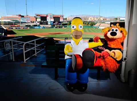 Albuquerque Isotopes, a minor league baseball team based in Albuquerque, New Mexico was actually named after The Simpson's