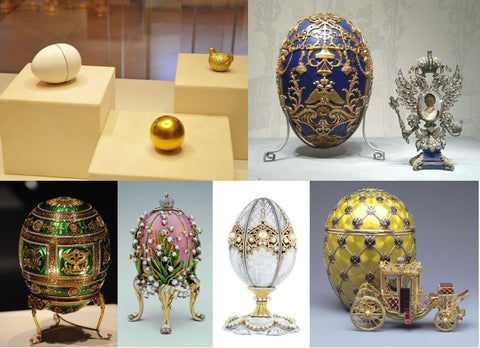 "The ""Hen Egg"" was the very first egg crafted by Peter Carl Fabergé"