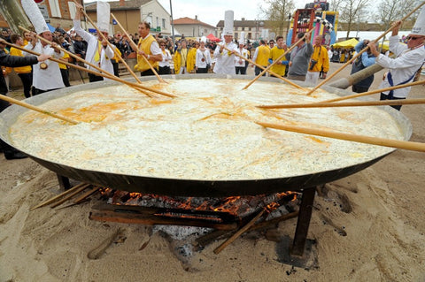 World's Largest Easter Omelette
