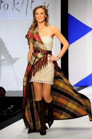 "Hillary Glenn's ""Dress to Kilt"" Scotland-inspired fashion show design"