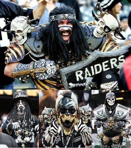 nfl raiders fan fashion