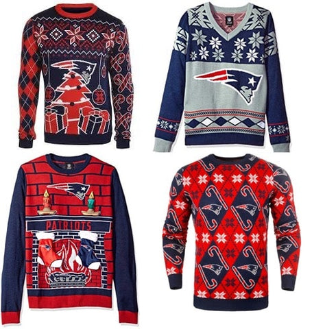 NFL ugly sweater examples