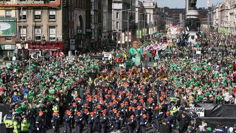 shortest irish parade of Dripsey