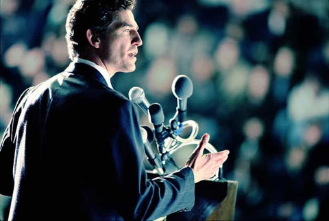 politician public speaking