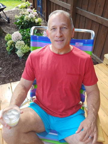 Brett Lawrence, Otero Chief Operating Officer: Vodka on the Rocks with Lime & Captain Cran-O