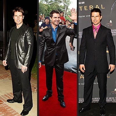 tom cruise style dressed in dark colors