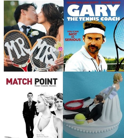 tennis themed weddings and movies