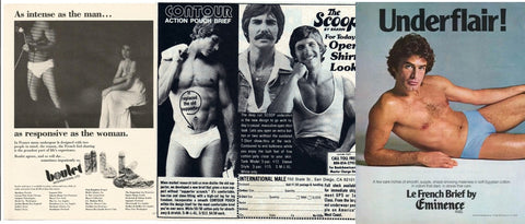 1970s Underflair mens underwear advertisement