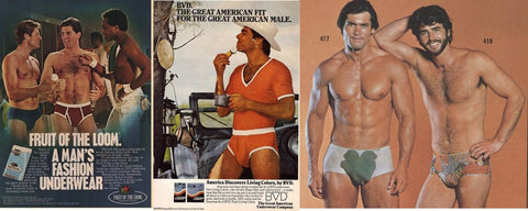 1980s underwear advertisement