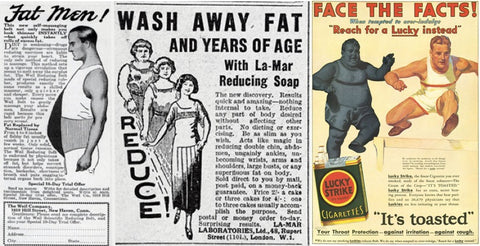 1920's losing weight advertisements