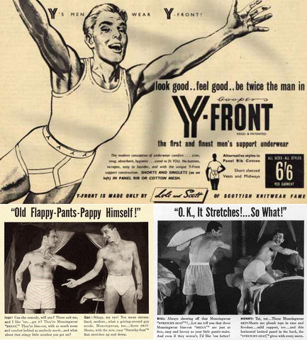 1940s underwear advertisment