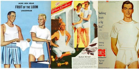 1950s mens underwear advertisement