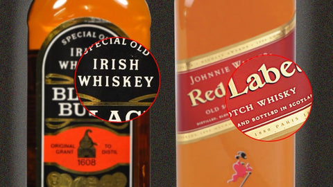 the name whiskey comes from gaelic origin