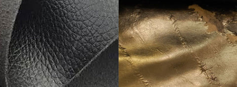 bi cast leather examples