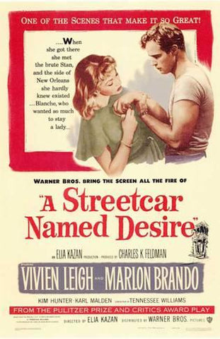 the t shirt made popular by street car named desire - marlon brando