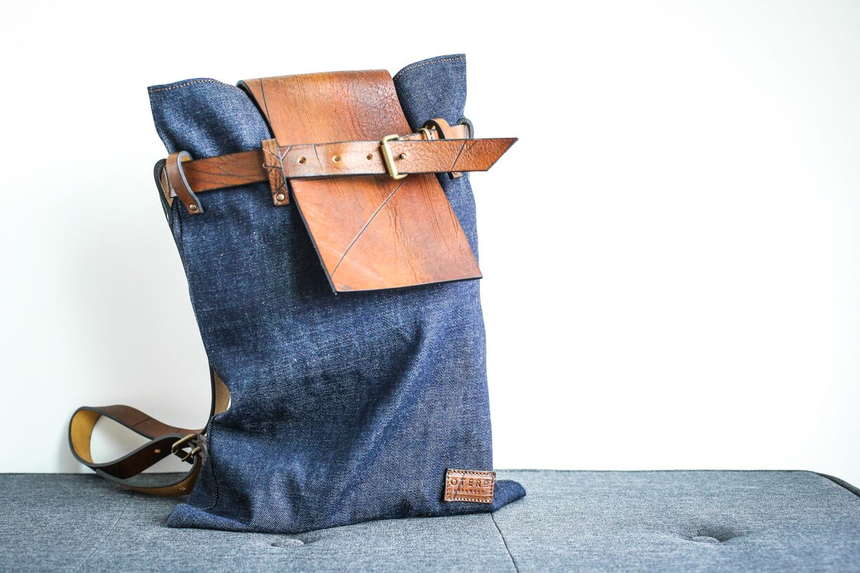 denim city backpack