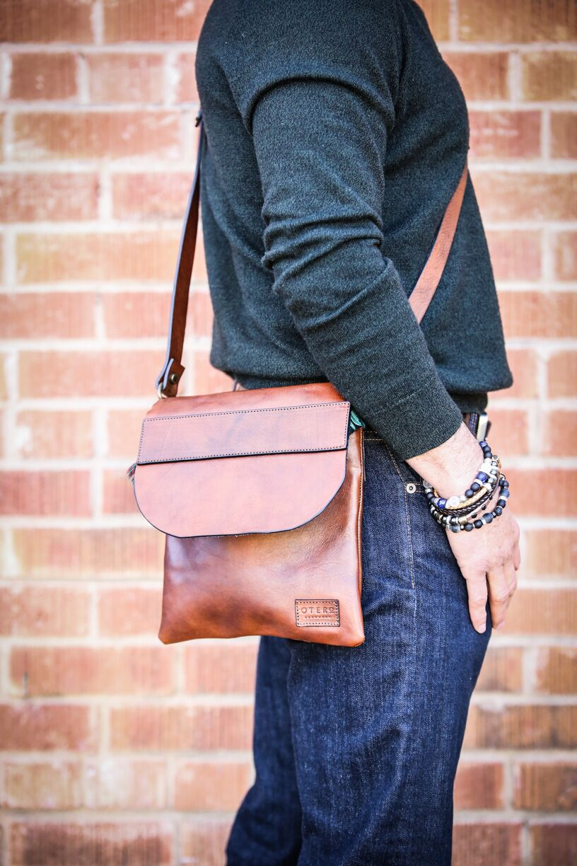 stylish minimalistic crossbody bag