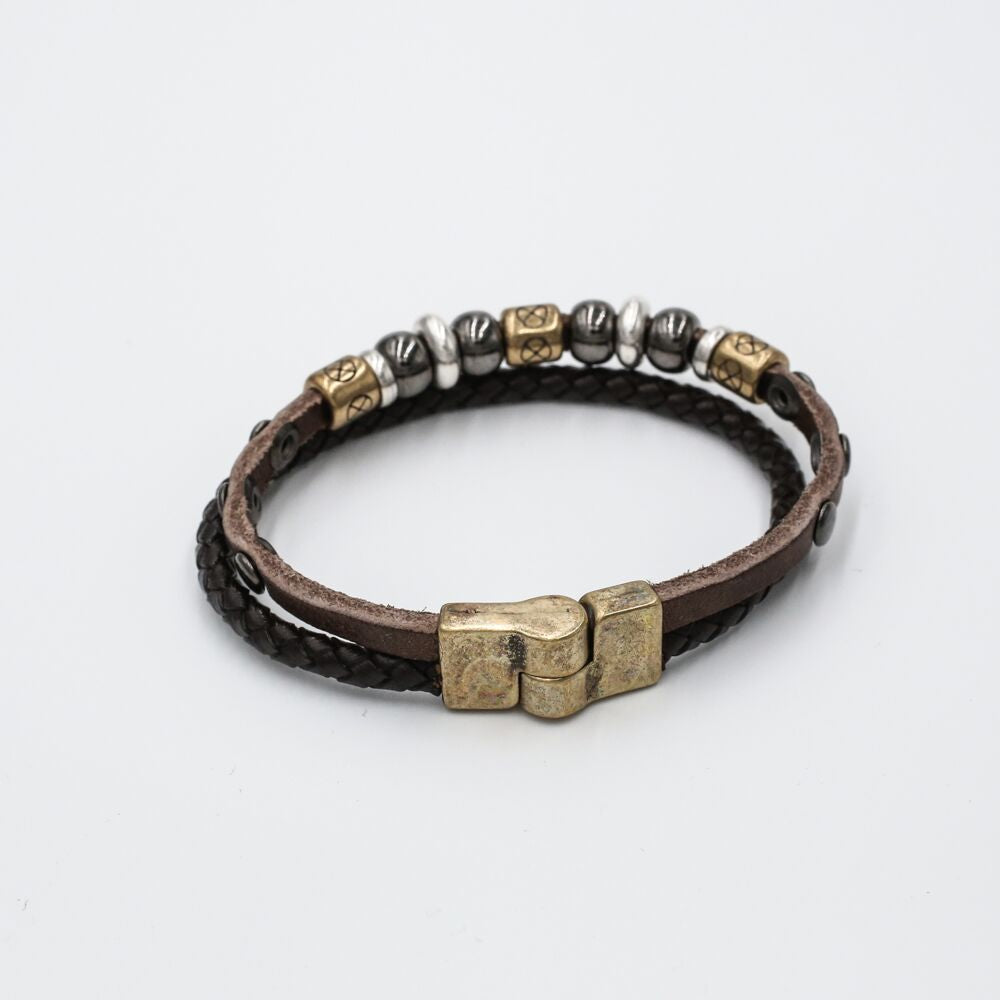 braided bead magnetic bracelet