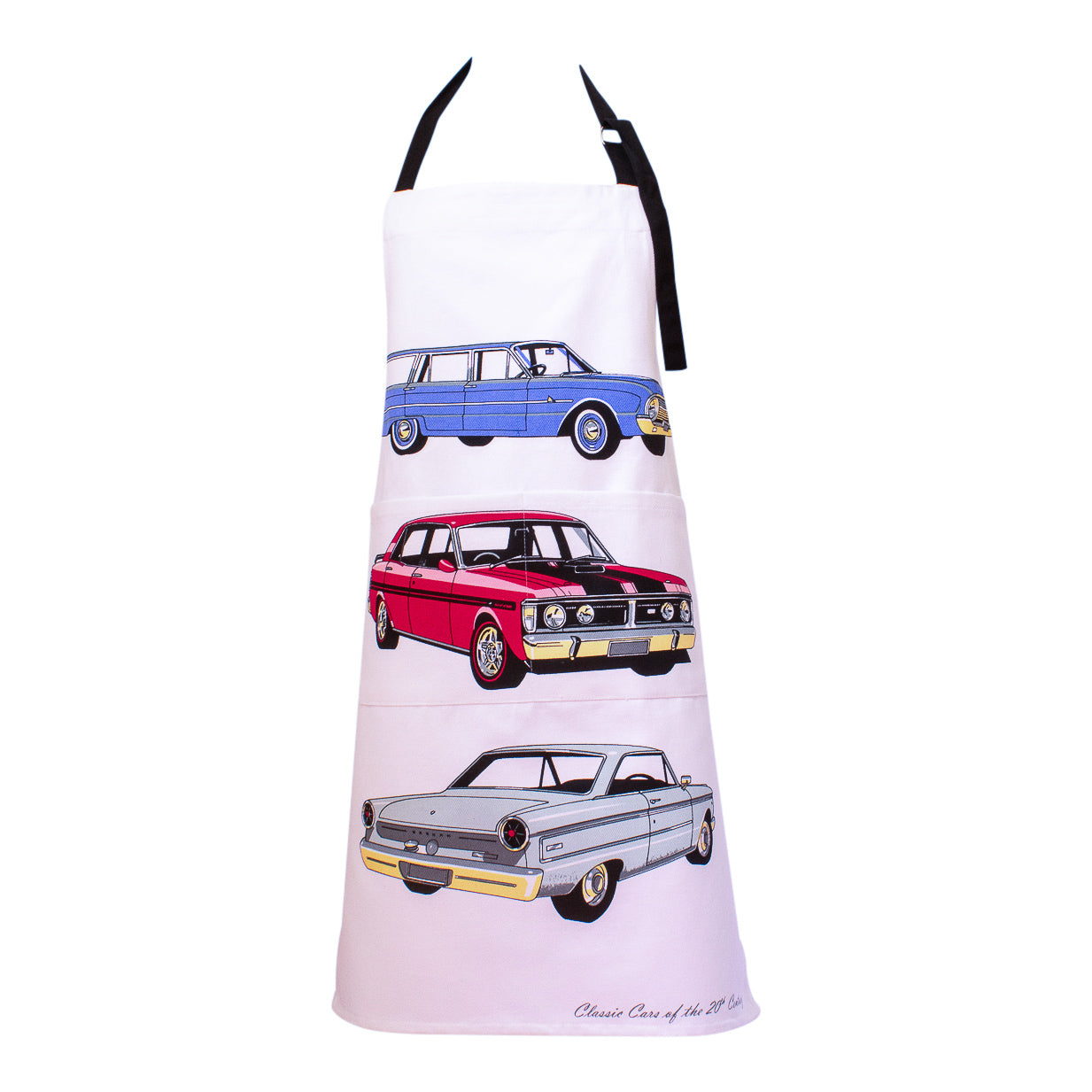 Aprons - Ford falcon classic cars-Apron-Oz About Oz