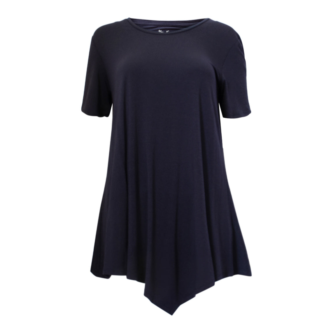 Bamboo swing tee - navy blue-Bamboo tee-Oz About Oz