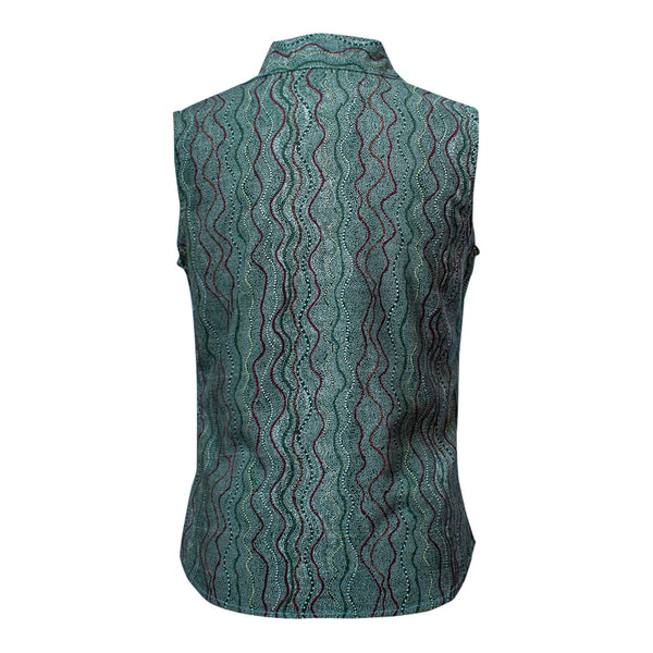 Women's bamboo sleeveless shirt - Seed Dreaming