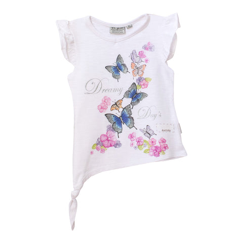 Girls' tshirt - dreamy days & butterflies-Girl's t-shirt-Oz About Oz