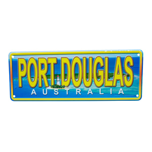 Novelty number plate - Port Douglas Australia-Car plates-Oz About Oz