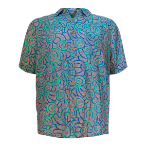 Men's bamboo shirt- bush tail possum-Men's bamboo shirt-Oz About Oz