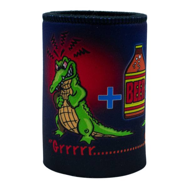 Stubby holder - crocodile, she'll be right!-Stubby holders-Oz About Oz