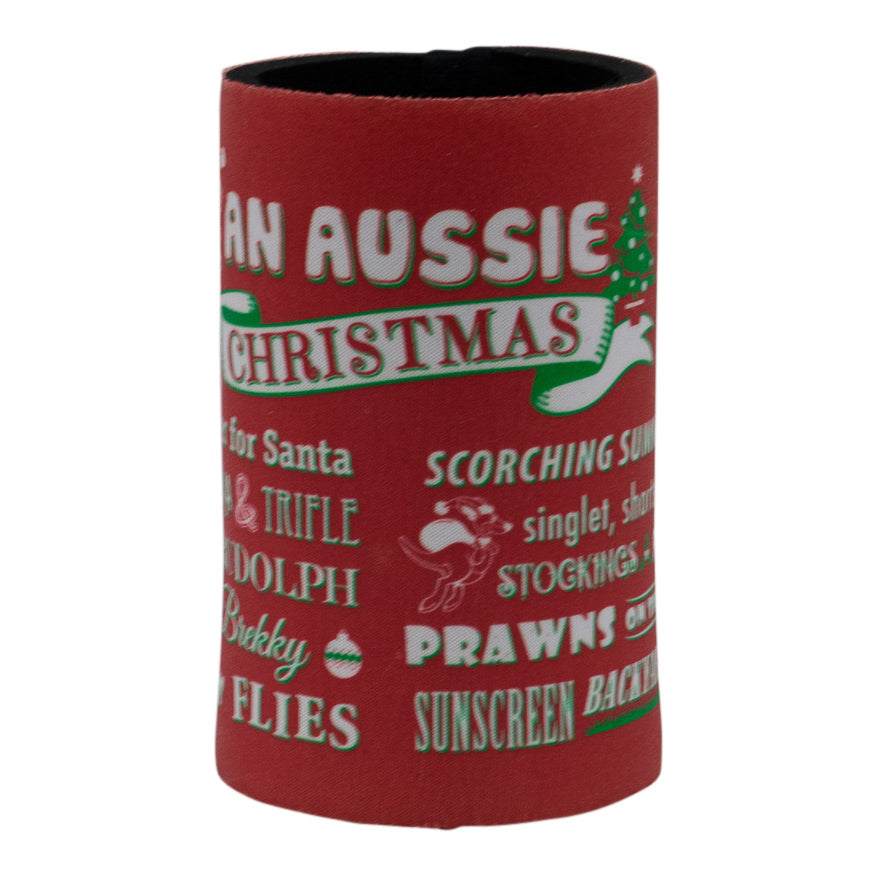 Stubby holder - An Aussie Christmas-Stubby holders-Oz About Oz