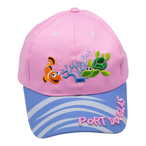 Kids cap - pink Port Douglas-Kids caps-Oz About Oz