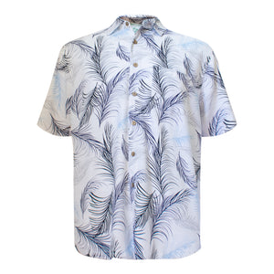 Men's bamboo shirt - feather