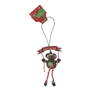 Koala Christmas tree decorations - assorted