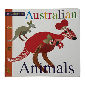 Kids board book - Australian animals