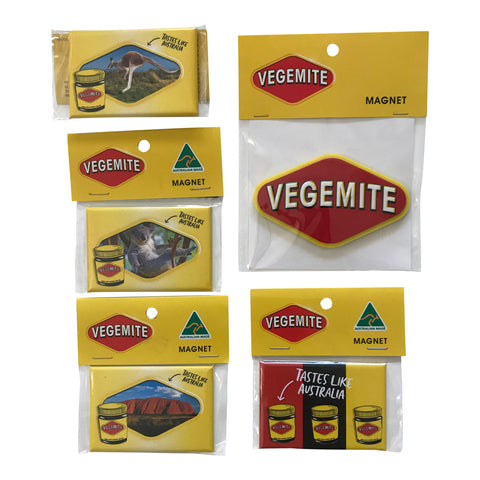 Vegemite magnets - assorted designs