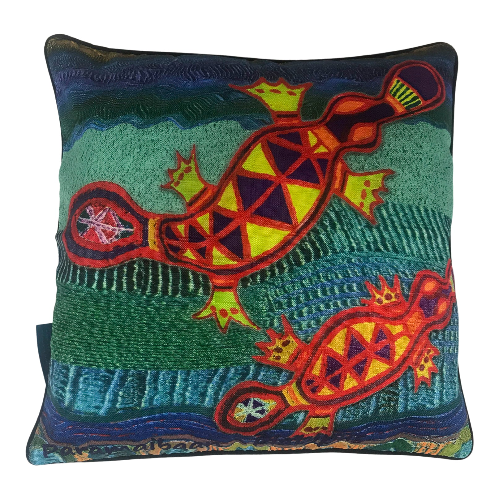 Cushion cover - platypus - Saretta Art and Design