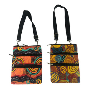 Jijaka Australia Aboriginal shoulder bags/cross body