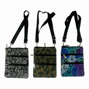 Aboriginal bags - adjustable shoulder strap - Yijan