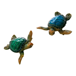Turtle ornaments - different sizes and styles