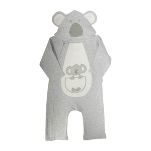 Koala baby onesie - with hood-Onesie-Oz About Oz