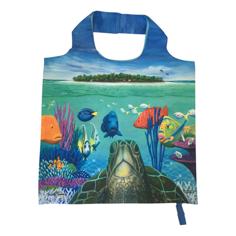 Tote bag - Green Island, Great Barrier Reef-Tote bag-Oz About Oz