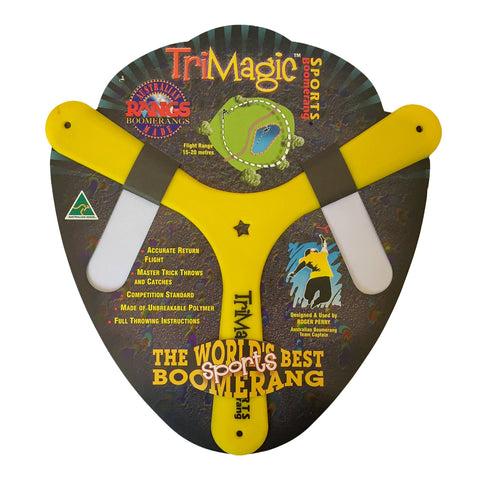Boomerang - Tri Magic Sports - comes in 3 colours-Boomerangs-Oz About Oz