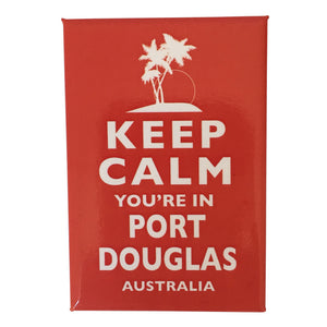 Fridge magnets - keep calm, you're in Port Douglas-Magnets-Oz About Oz
