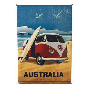 Fridge magnets - VW Kombi & surfboard Australia-Magnets-Oz About Oz