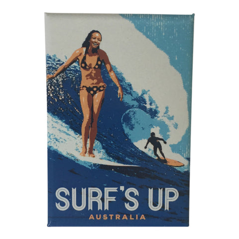 Fridge magnets - surf's up-Magnets-Oz About Oz