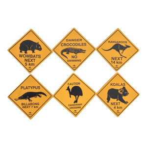 Fridge magnets - Australia road sign magnets-Magnets-Oz About Oz